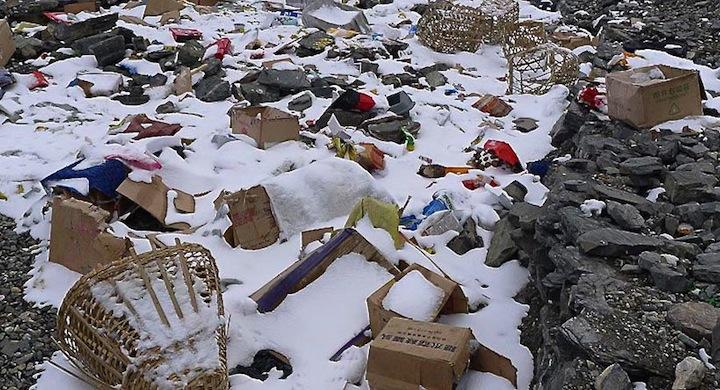 Limpiar-Everest-basura