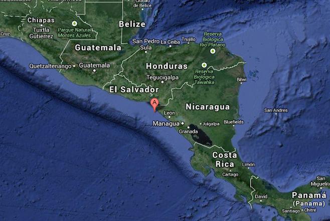 sismo Nicaragua