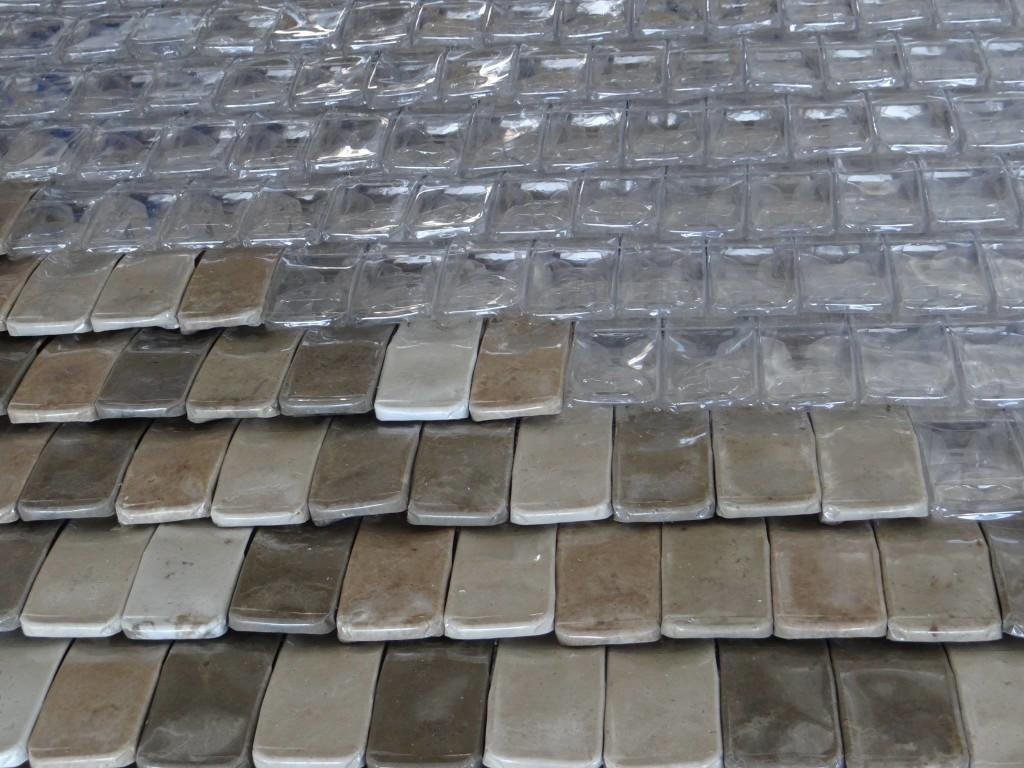 techo botellas recicladas