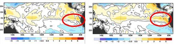 Figura 1. Anomalía de la Temperatura Superficial del Mar Mayo 2014 fuente: NOAA