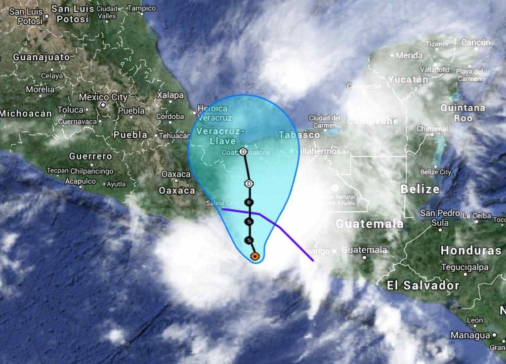 tormenta tropical BORIS