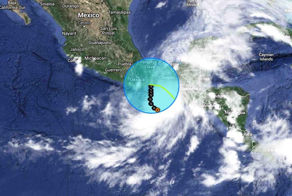 Depresión Tropical 2E