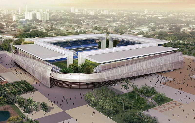 Estadio Arena Pantanal  Foto: Wikipedia