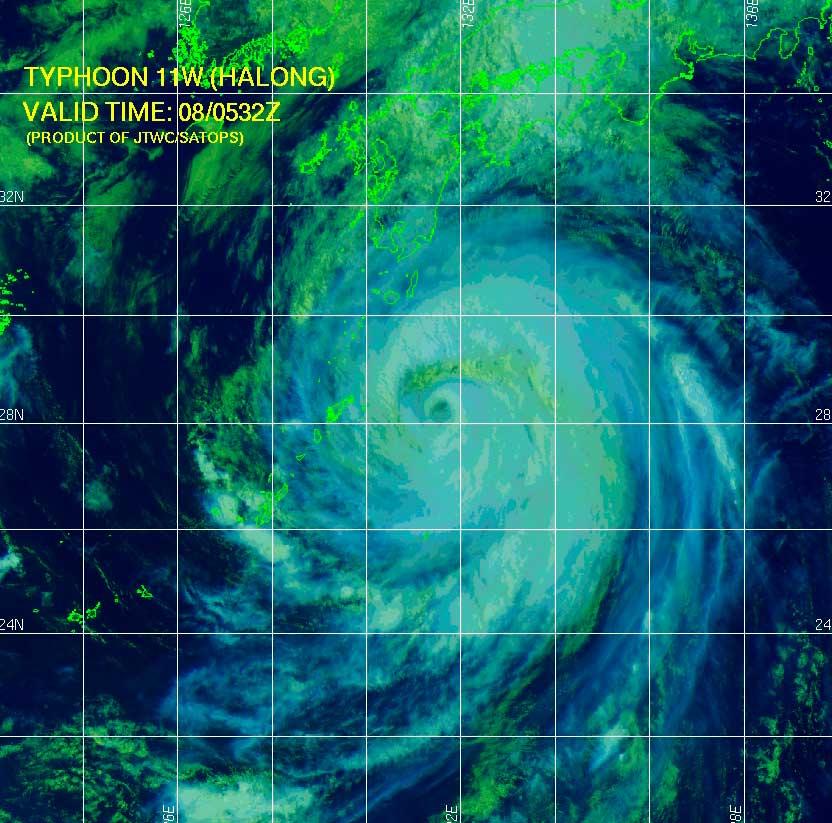 Imagen: JTWC