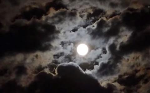 Superluna vista en Huila, Foto: @tuseminario.com