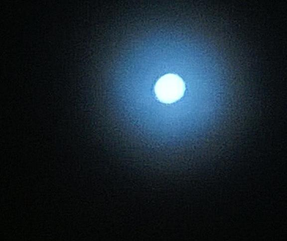 Superluna vista desde los Llanos Orientales, Foto: @piedrapreciosa