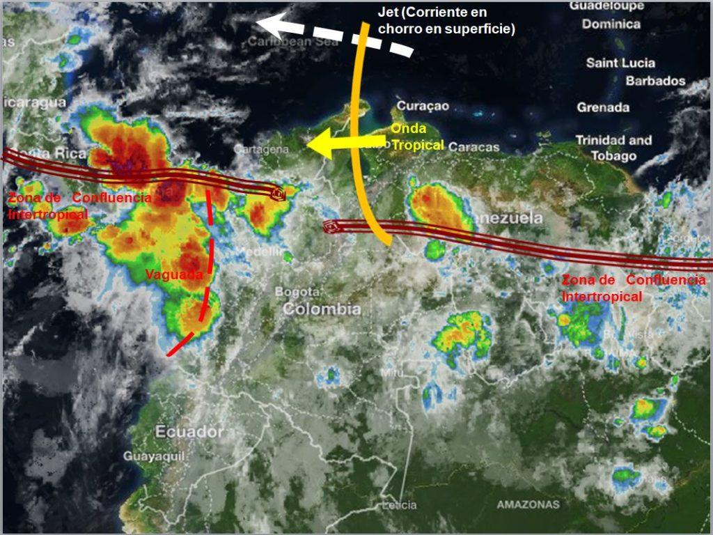 Pronóstico meteorológico para Colombia 05 de junio de 2018 • Canal Clima e009dba3432